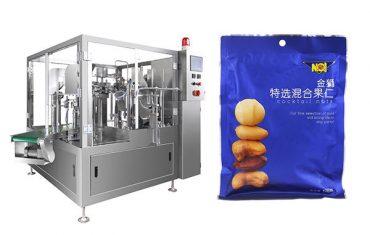 voorgemaakte zakvoedsel korrel vullende verpakkingsmachine
