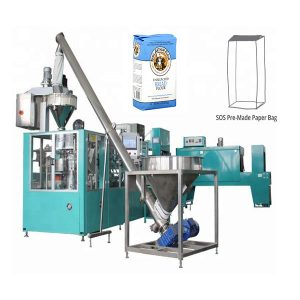 Automatische pre-en-klare papieren zakverpakkingsmachine