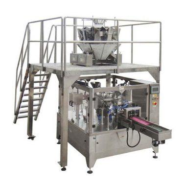automatische roterende de ritszak van de voedselverpakkingsmachine