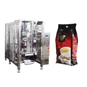 Coffee Quad bag Form Fill Fill verpakkingsmachine