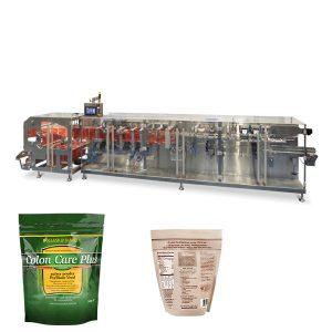 Doypack poeder korrel verpakking horizontale vorm vul sluitmachine