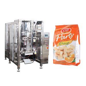 Volledige automatische voedsel Quad Seal Bag Packing Machine