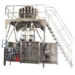 horizontale pre-made verpakkingsmachine met multiheadweger