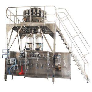 Horizontale Pre-gemaakte Verpakkingsmachine met Multihead Schalen voor Korrels