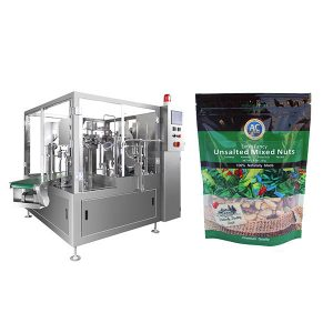 Intelligent Rotary Premade Bag Packing Machine