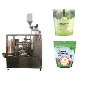 Rotary Laundry vloeibare voorverpakkingsverpakkingsmachine