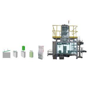 Secundaire verpakkingstas in polywoven zakverpakkingsmachine