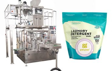 kleine korrelige suger premade pouch verpakkingsmachine