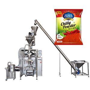 VFFS Bagger-verpakkingsmachine met wormvuller voor paprika en chili-voedingspoeder